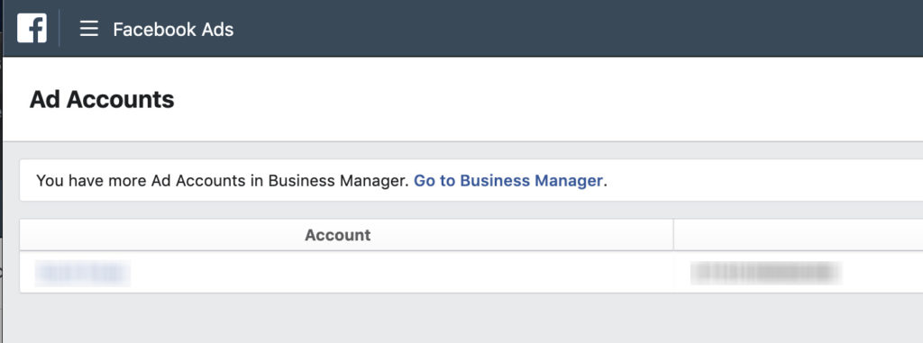 How to find your Facebook Ad Account ID – Digital Marketing