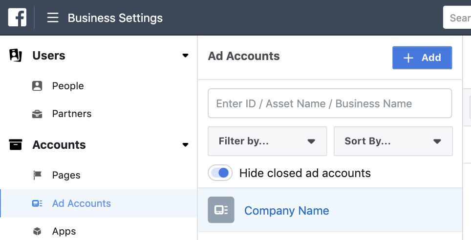 How to Create a New Facebook Ad Account – Digital Marketing