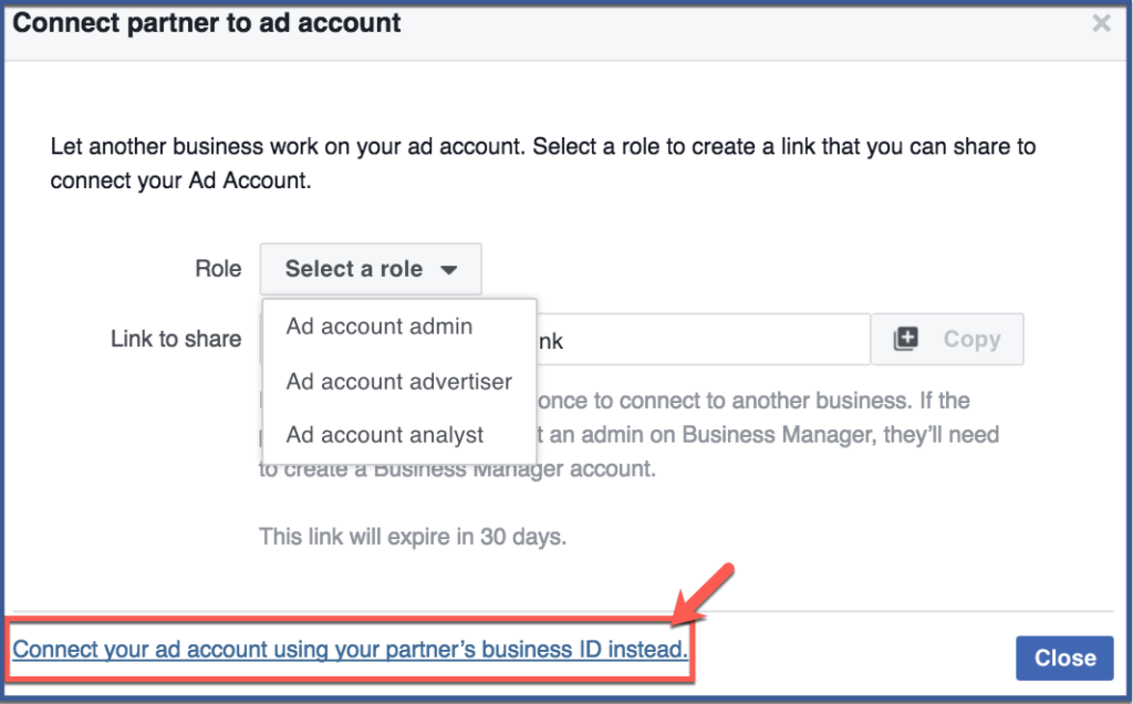 How To Assign A Partner To Your Facebook Business Manager Ad Account Digital Marketing How To S